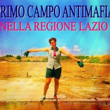 Gaeta: Festa di chiusura oggi per il primo campo antimafia della Regione Lazio