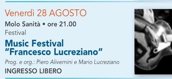 Gaeta: Music Festival Francesco Lucreziano