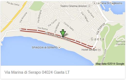 Gaeta: ripristinato il doppio senso di circolazione in via Marina di Serapo ma solo il Mercoledi