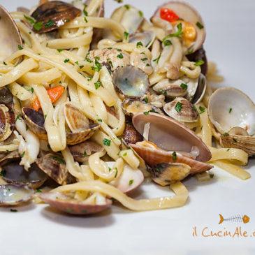 """#Ricette Prodotti tipici di Gaeta da """"Il CucinAle"""": Scialatielli ai frutti di mare"""