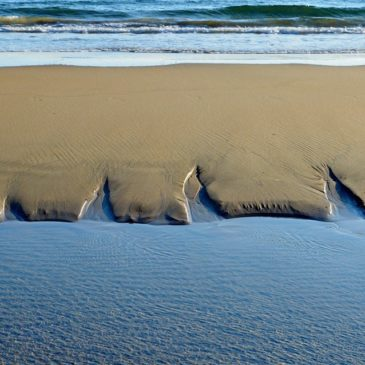 *FOTO* Gaeta: Giochi d'Acqua sulla Spiaggia di Serapo