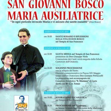 Gaeta: Festa di San Giovanni Bosco