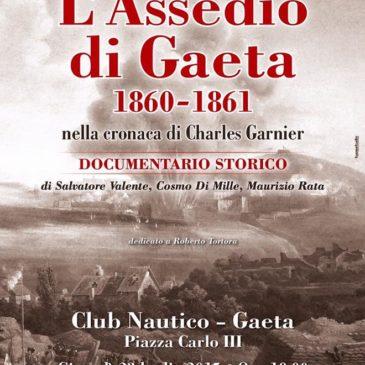 #Eventi #Gaeta: L'Assedio di Gaeta – Documentario Storico Giovedi 23 Luglio