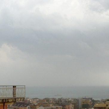 #Meteo Tempo reale #Gaeta: in arrivo un forte temporale sul Golfo – immagini in diretta