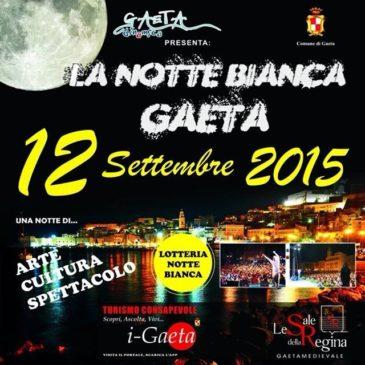 Notte Bianca 2015 a Gaeta: tra i probabili artisti, Venditti, Moreno, Il Volo