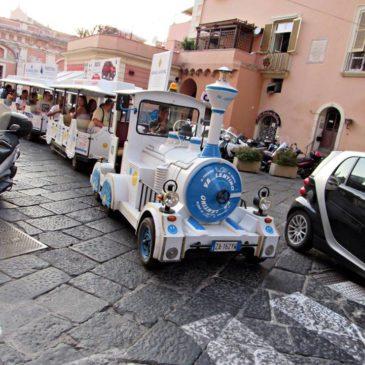 Gaeta: Spostarsi con il trenino turistico
