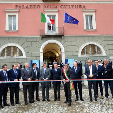 Gaeta fa spazio all'Arte e alla Cultura: Ecco le foto dell'inaugurazione del Palazzo della Cultura