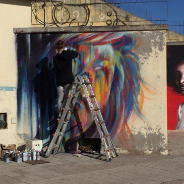 *FOTO* Memorie Urbane a Gaeta: @Semalao al lavoro per l'evento 25novembre.org