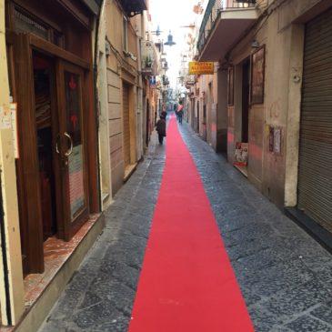 Gaeta si tinge di rosso: 2 Km di tappeto rosso grazie a Gaet@t