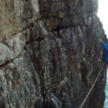 *VIDEO* Gaeta: Si calano nella Montagna Spaccata partendo da Monte Orlando