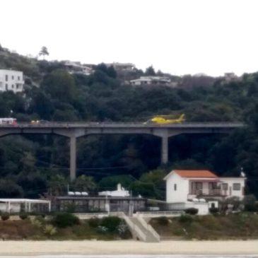 *Foto* Grave incidente sulla Flacca a Gaeta-traffico bloccato-utilizzare strade alternative