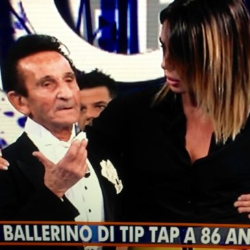 Gaeta in TV: Carlo Rizza, storico ballerino di Gaeta, a Domenica IN su Rai Uno