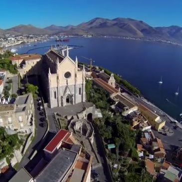 Video Gaeta: Lo Yacht Med Festival visto dal drone / Spettacolare ed emozionante
