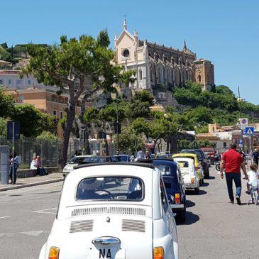 VIDEO Una carovana di 500 a Gaeta Medievale / ecco il video del giro d'onorea bordo delle Fiat
