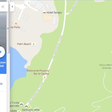 Percorsi virtuali su Gaeta: I sentieri della Riviera di Ulisse su Google Street View