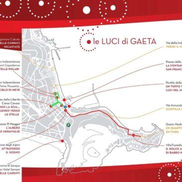 Luminarie di Gaeta: ecco la Mappa del percorso e il programma