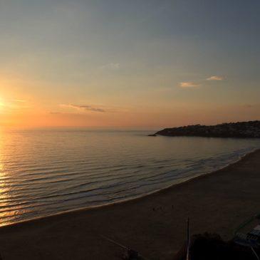 VIDEO: Tramonto nel mese di Dicembre a Gaeta. 30 secondi di puro relax