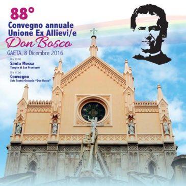 """88° Convegno dell'Unione Ex Allievi/e """"Don Bosco"""" di Gaeta"""