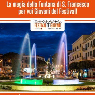 Gaeta: tutto pronto per il Festival dei Giovani…anche la fontana