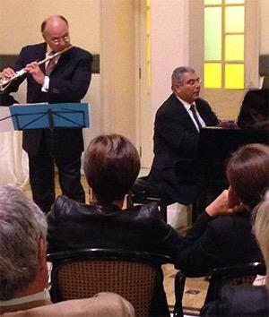 Torna a esibirsi a Gaeta il duo Arciuli-Narducci in concerto per flauto e pianoforte