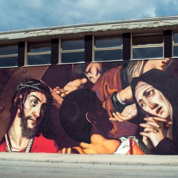 """Gaeta: """"Cristo sulla via del calvario"""" – le parole dell'autore"""