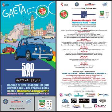 Fiat 500 Day Gaeta 2017: Ecco il programma del raduno più bello dell'anno
