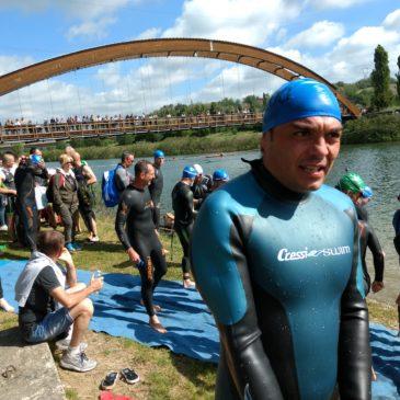 Il campione Pontino di Triathlon Erasmo Marciano, sbarca al Mugello