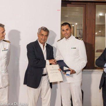 Gaeta: premio per la Guardia costiera con il Follaro d'Oro alla presenza del Dott. Bonelli