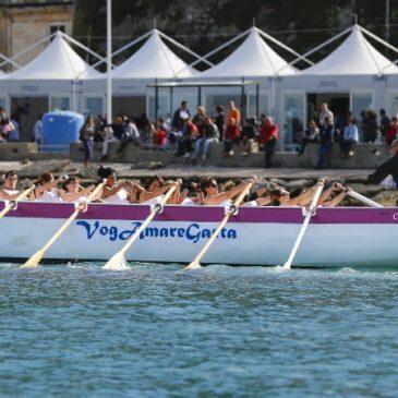 La squadra di VogaMareGaeta in trasferta per il Palio del Mediterraneo