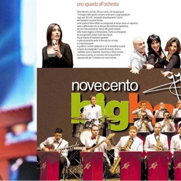 Gaeta: Monica Hill & Novecento Big Band in concerto