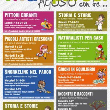 Viva il Parco: ecco gli eventi di Agosto del Parco Riviera d'Ulisse