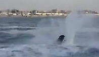 *Foto* Sbalzano dalla moto d'acqua, soccorsi dalla Guardia Costiera di Gaeta