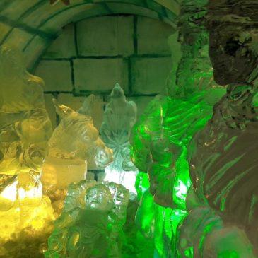 *VIDEO* Il Presepe di ghiaccio a Gaeta! Grande novità delle Luminarie