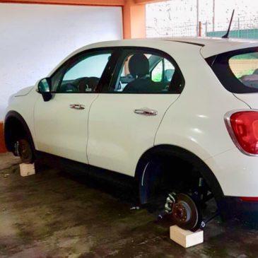 Gaeta: furti di ruote e vandalismo, il copione è sempre lo stesso