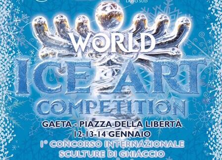 """Gaeta """"World Ice Competition"""" La sfida sul ghiaccio"""