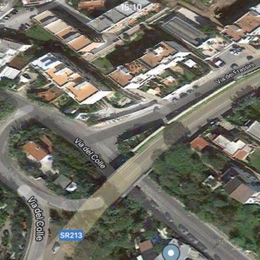 Gaeta: Cavalcavia pericoloso, c'è l'ordinanza di divieto di transito per i mezzi pesanti