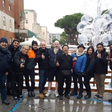 """Sono arrivati gli artisti del """"World Ice Art Competition"""""""