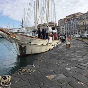 Il Museo Navigante arrivato a Gaeta