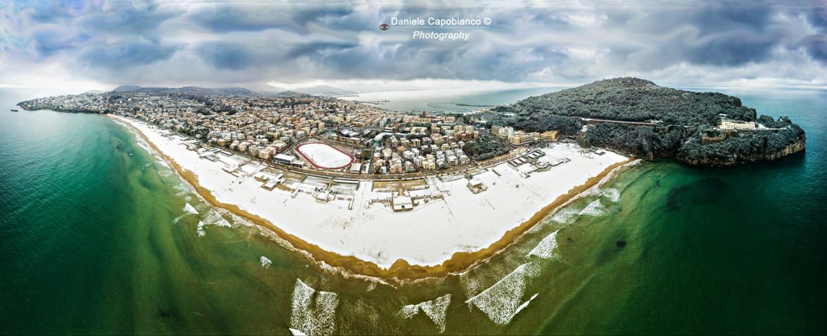 Foto Spiaggia di Serapo Neve 2018 - Web