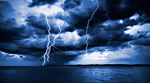 18 Febbraio: Allerta meteo in codice giallo con temporali