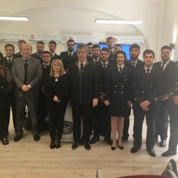 28 Nuovi ufficiali per la Marina Mercantile: l'ITS Fondazione G. Caboto consegna i diplomi