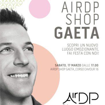 AirDP apre a Gaeta: Testimonial del Marchio Alex Del Piero