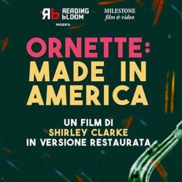 """Il viaggio visionario di """"Ornette: Made in America"""" al Cinema Ariston di Gaeta"""