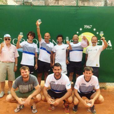 Il Circolo Tennis Gaeta ottiene la permanenza in serie B