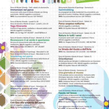 Vivi il parco 2018: le iniziative di luglio del Parco della Riviera d'Ulisse