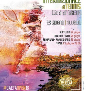 Tennis: Al via le qualificazioni del Torneo ITF Maschile Città di Gaeta