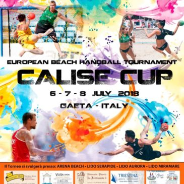 "Gaeta: -2 all' ""European BeachHandball tournament"""