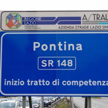 Sr148 Pontina: lavori sui Ponti in direzione Roma, previsti disagi da Lunedì