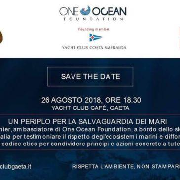 Il periplo per la salvaguardia dei mari fa tappa a Gaeta
