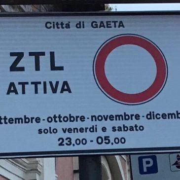 ZTL Gaeta: Nuovi orari per i prossimi mesi